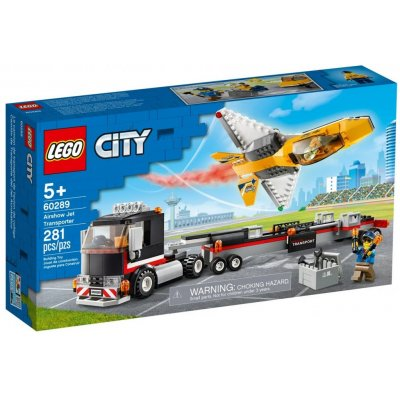 Lego City Great Vehicles Flugshow-Jet-Transporter