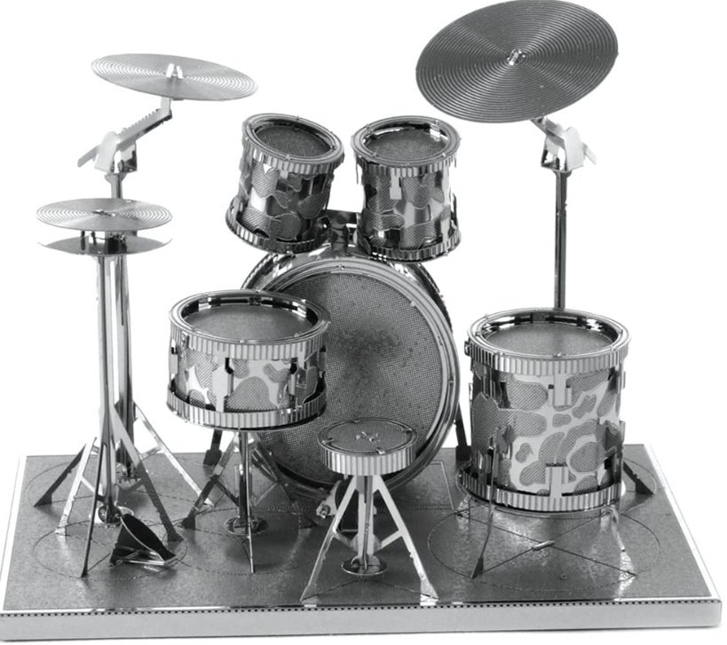 Drum Set - Schlagzeug    -  Metal Earth