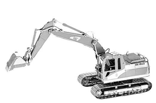 Cat Excavator-Bagger   -  Metal Earth