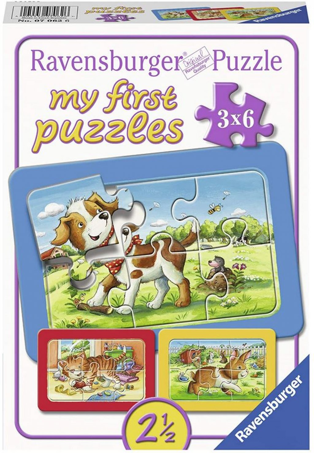 Gute Tierfreunde - Ravensburger My first puzzles