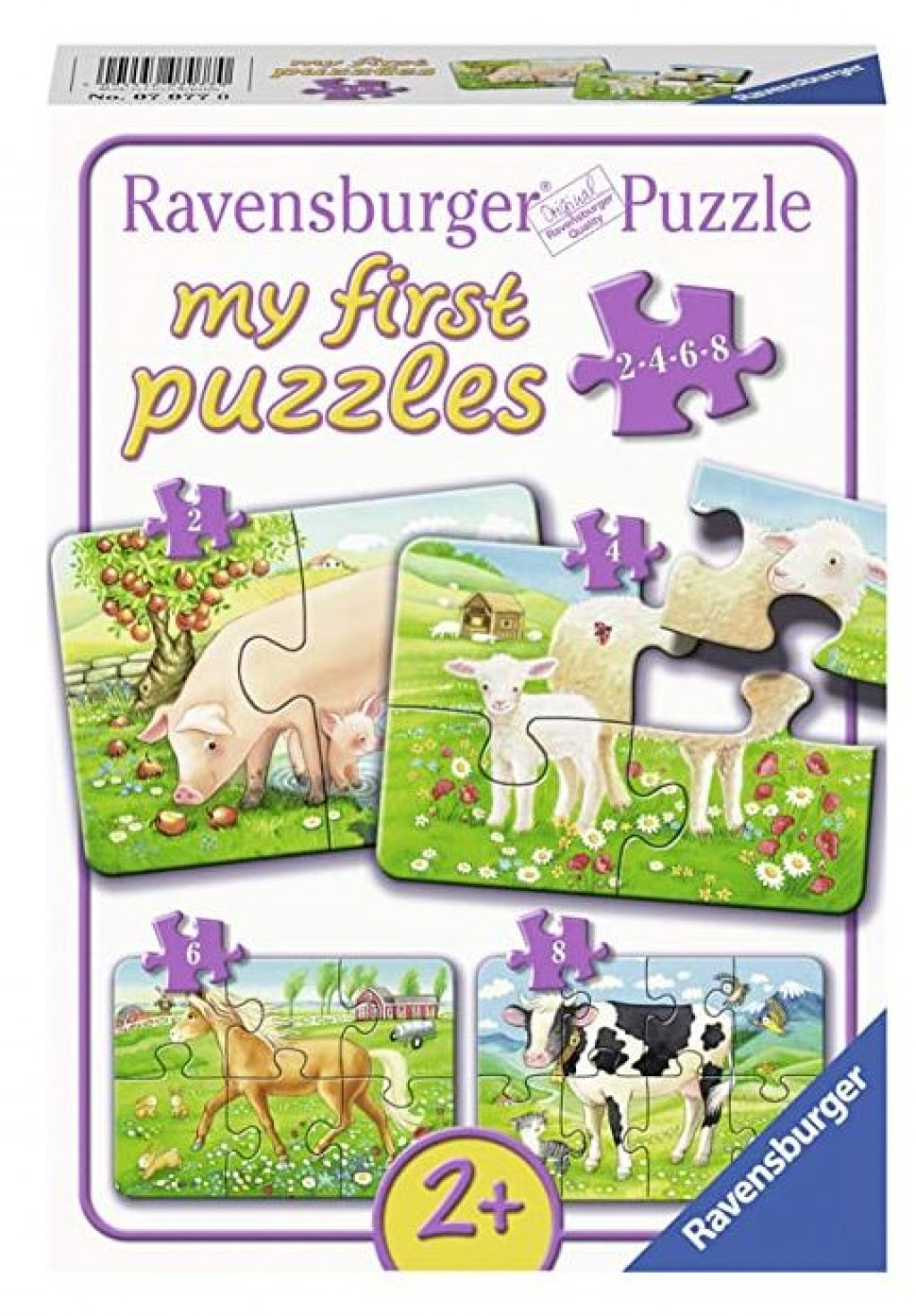 Unsere Lieblingstiere - Ravensburger My first puzzles