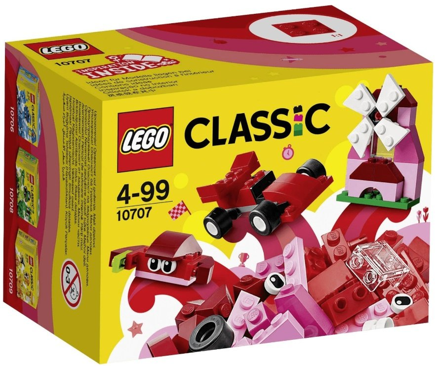 Lego Classic KreativBox rot
