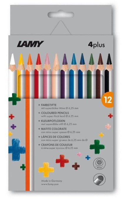 Farbstiftetui 4plus 12er Set  - Lamy
