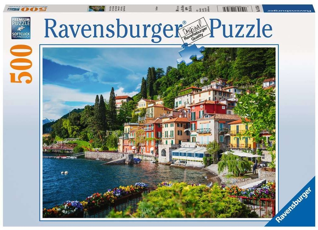 Comer See Italien  - Ravensburger Puzzle 500 Teile