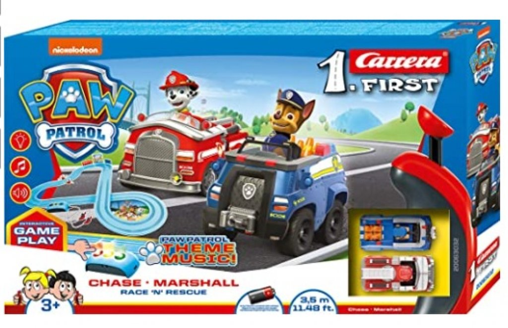 Carrera Autorennbahn First PAW-Patrol Race N Rescue
