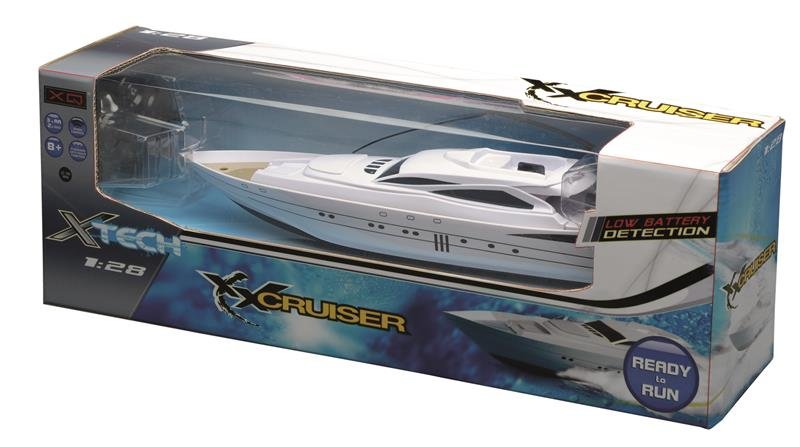 FUNK-RC YACHT - Motorboot  1:28