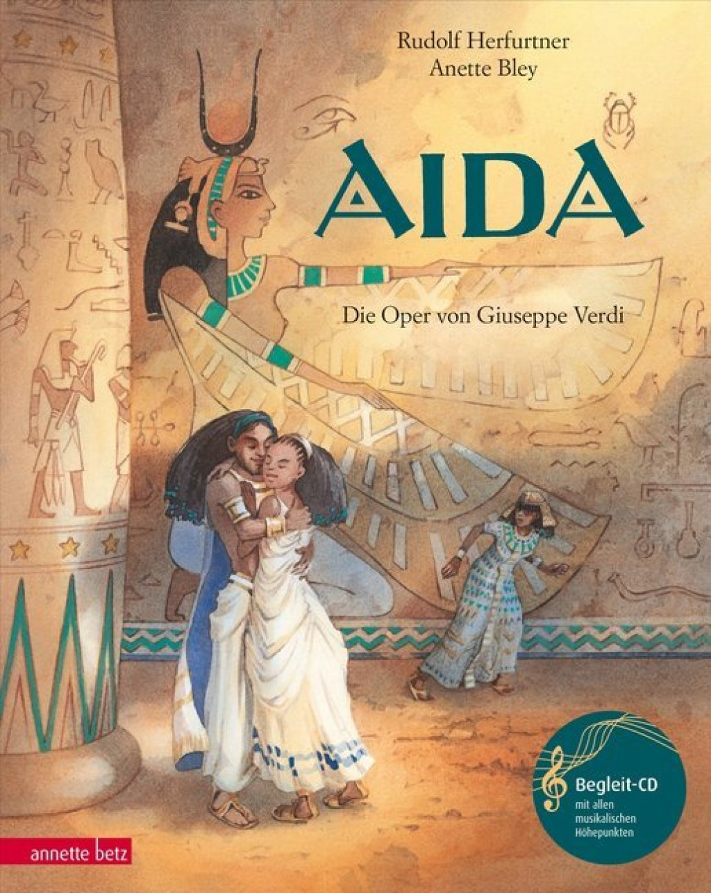 Aida, m. Audio-CD