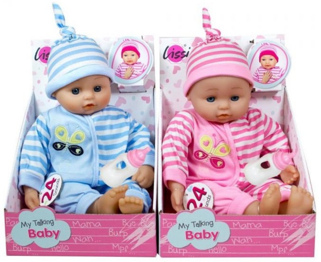 "Lissi Babypuppe ""My Talking Baby"" mit 24 Sounds"
