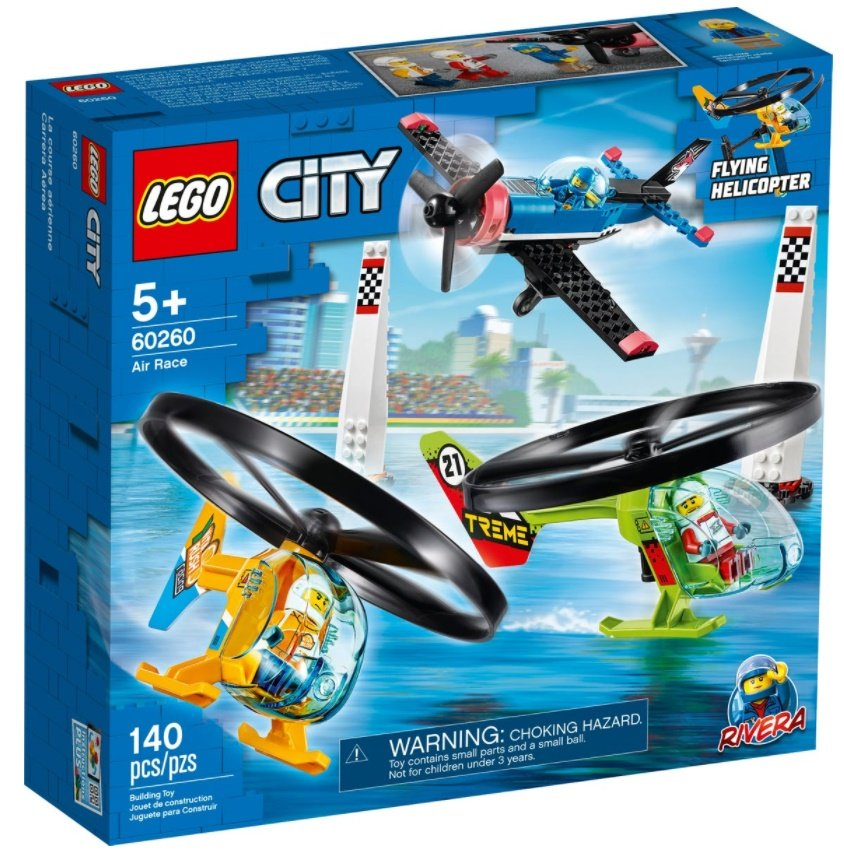 Lego City Airport -  Air Race