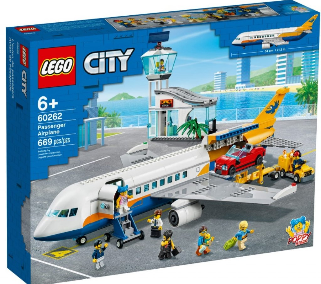 Lego City Airport Passagierflugzeug