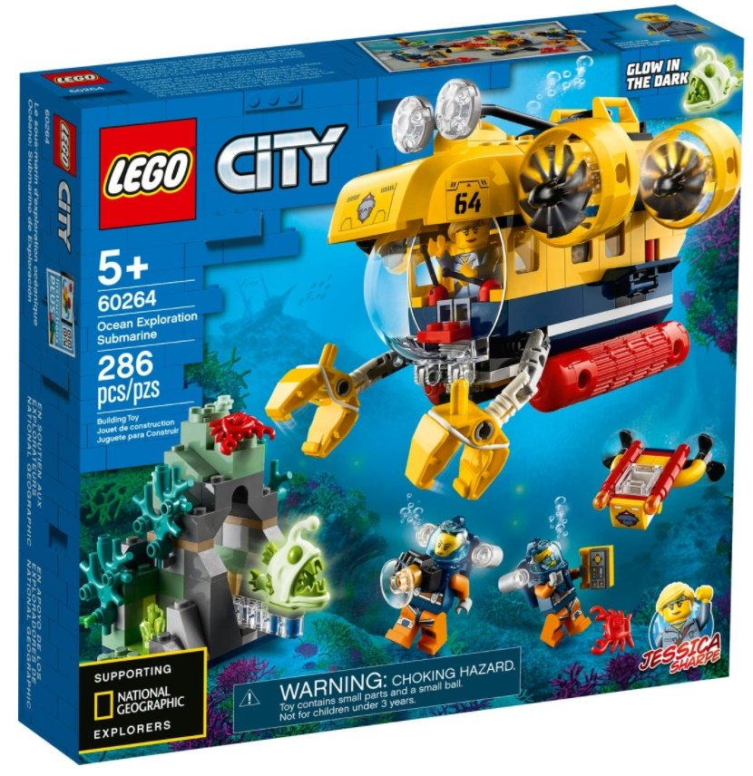 Lego City Oceans Meeresforschungs-U-Boot
