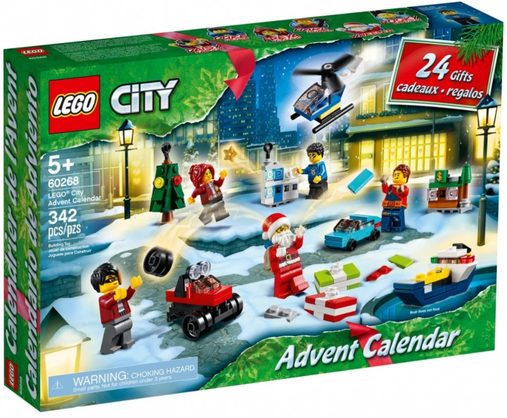 Lego City Adventkalender